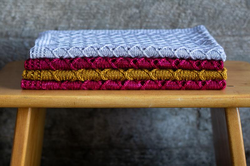 Folded KiYO baby blankets