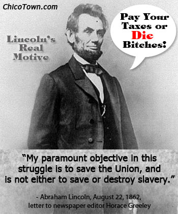 Image result for image of abe lincoln as a warmonger