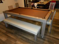Colors Convertible Pool Tables - Dining Room Pool Tables ...