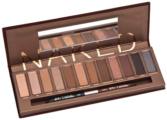 Urban Decay fall 2010 eyeshadow Naked Palette Urban Decay Makeup Collection for Fall 2010 + Swatches