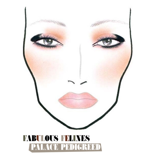 MAC Fall 2010 Fabulous Felines Palace Pedigreed Face Chart MAC Fabulous Felines Palace Pedigreed Collection for Fall 2010 – Face Chart + Makeup Tutorial