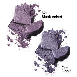 Bobbi Brown Black Velvet fall 2010 sparkle eyeshadow swatch Bobbi Brown Black Velvet Makeup Collection for Fall 2010   Information, Photos & Prices