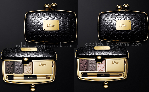 Dior Holiday 2010 Minaudiere palette Dior Minaudiere Holiday 2010 Makeup Collection New Photos