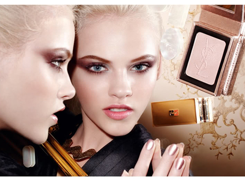 Yves Saint Laurent Holiday 2010 Colorama Makeup Collection Yves Saint Laurent Metallic Colorama Collection for Holiday 2010 New Photos