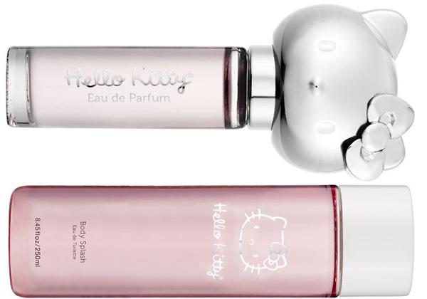 Hello Kitty 2011 Collection eau de parfum body splash Hello Kitty Collection for Spring 2011   Limited Edition