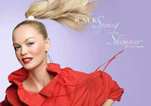 RMK 2011 Spring Shimmer Makeup Collection promo RMK Spring Shimmer Collection for Spring   Summer 2011   Sneak Peek & Photos