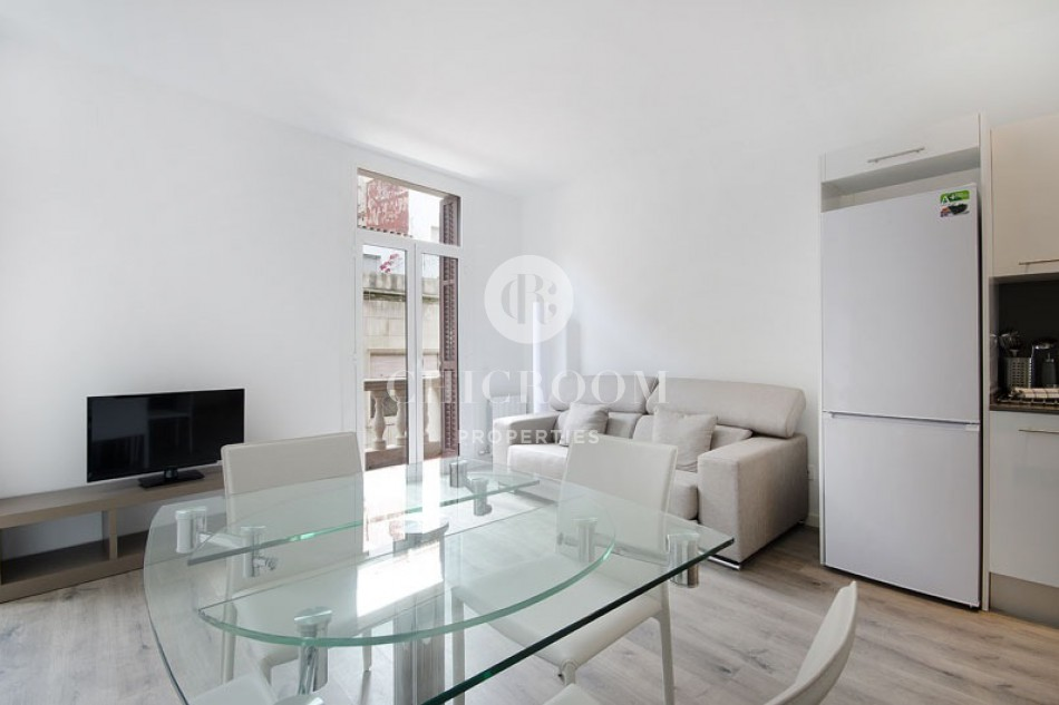 Furnished 1 bedroom apartment for rent in Sarria