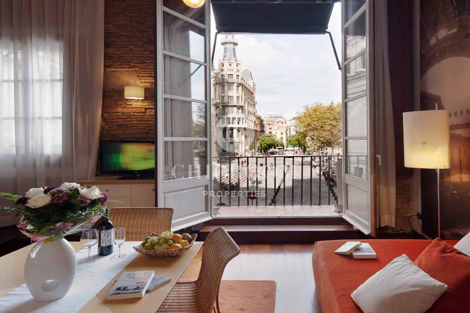 Furnished 2 bedroom apartment for rent mid term in Barcelona