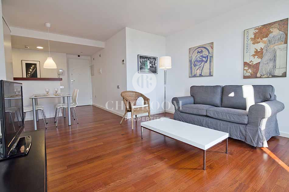 Furnished 1 bedroom apartment for rent in Barceloneta