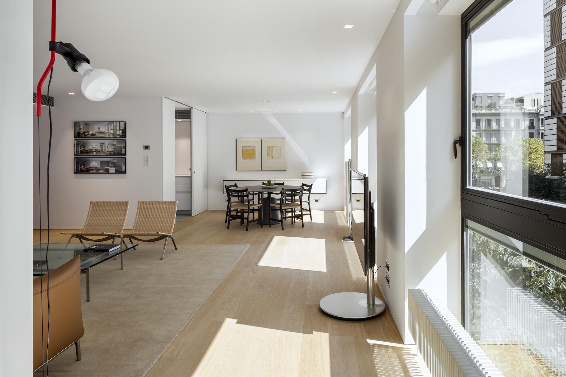 Luxury apartment for rent Paseo de Gracia Barcelona