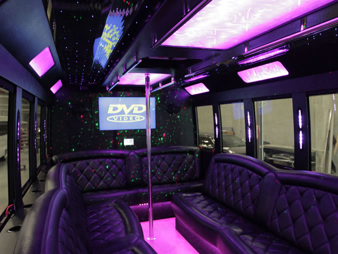 20 Passenger Party Bus  Weddings Proms Sporting Events