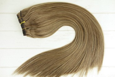 #16_Dark_Honey_Blonde_Clip_In_Hair_Extensions_Human_Remy_Double_Drawn_Chicsy_Hair_resize