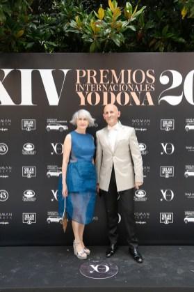 Pepa Bueno y Modesto Lomba. Foto Roberto Cárdenas