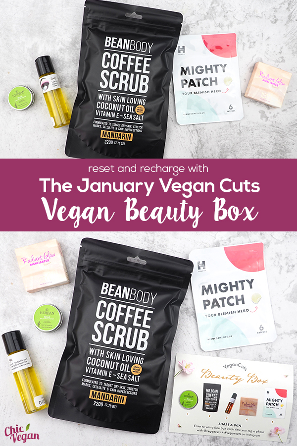 The January Vegan Cuts Vegan Beauty Box is full of cruelty-free cosmetics and skin-care products to help you reset and recharge for 2019.