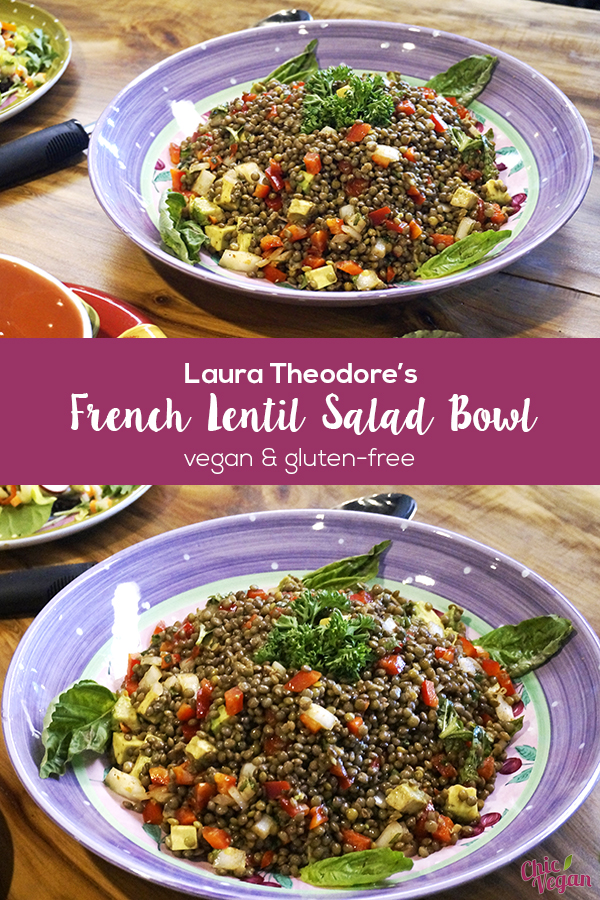 Lentils provide a substantial base and plenty of plant-based protein, while the veggies and flavorings add zing to this satisfying French Lentil Salad Bowl with Sweet Peppers and Basil.