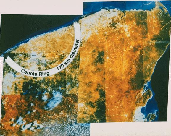 Chicxulub crater Yutacan