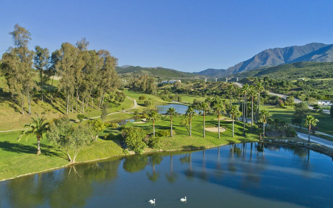 Golf in the sun…Estepona Golf our sunshine partner!