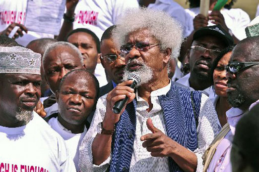 Wole Soyinka on President Jonathan's Revisionism