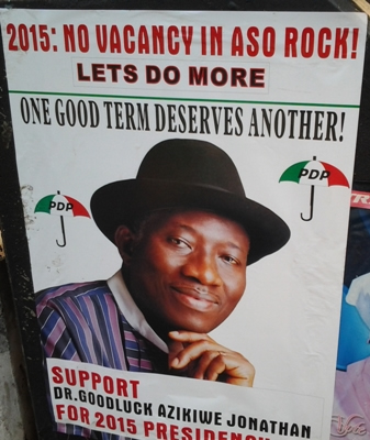 Can President Jonathan contest in 2015?