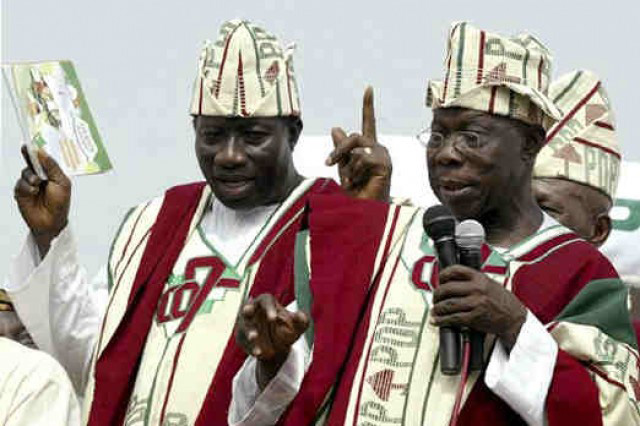 Jonathan and Obasanjo Feud - Implications for 2015