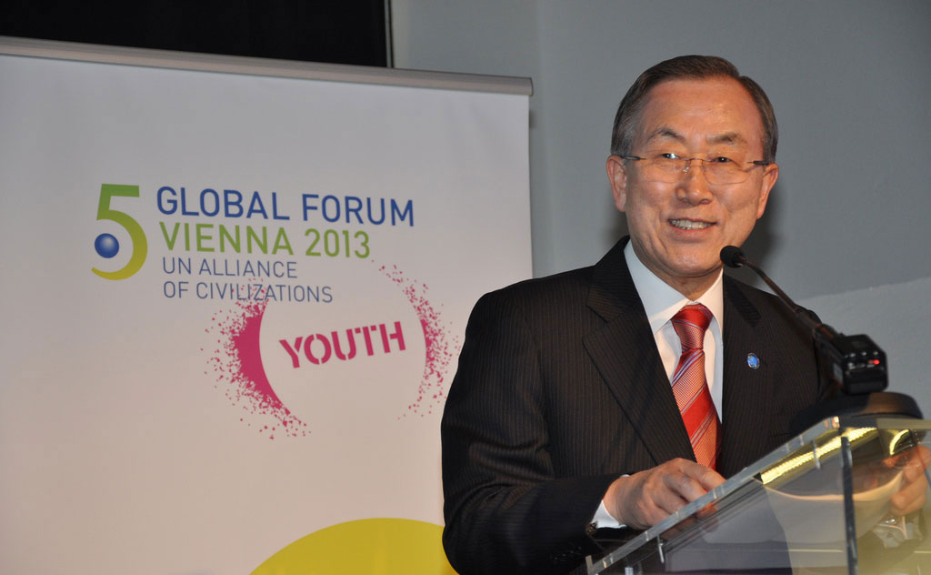 UN Secretary General Joined by World Leaders in Vienna at the 5th Global Forum of the UN Alliance of Civilizations