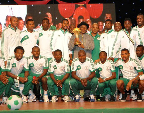 Nations Cup: Keshi, players get national honours, cash, plots of land