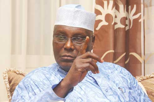 President Jonathan is entitled to seek the PDP ticket - Atiku Abubakar