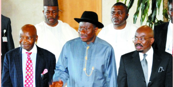 """""""Catch me if you can"""", President Goodluck Jonathan"""