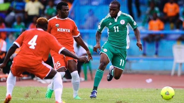 Late goal saves African champions Nigeria from defeat