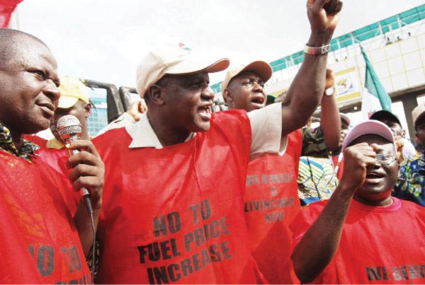 Nigeria Labour Congress suspends work stoppage, protest march