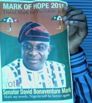In the spirit of Easter, Senate President, David Mark, comes out in support of gays and lesbians