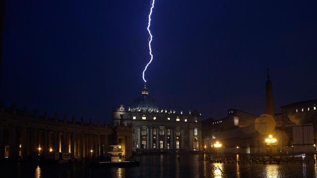Lightening, Lottos and the Vatican – Part 1