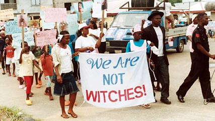 Witchcraft accusations and free thought in Africa