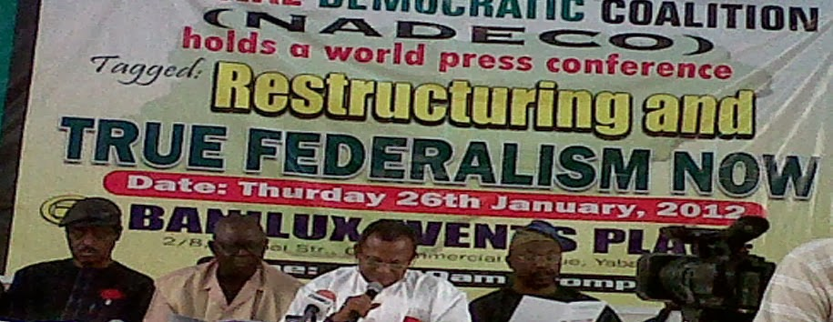 Can Sovereign National Conference Save Nigeria?