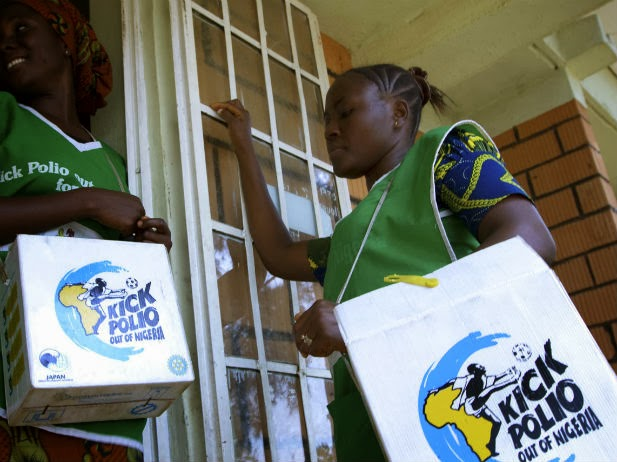 Rotary Nigeria hinges 2014 Polio-free target on consistent vaccination