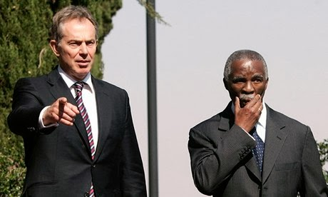 """Tony Blair plotted military intervention to remove Mugabe"" claims Thabo Mbeki"