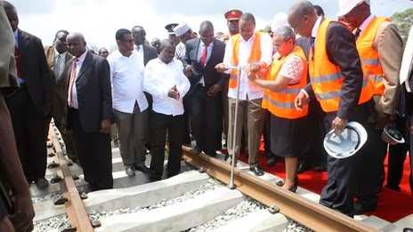 Kenya launches new railway to reach South Sudan and Burundi
