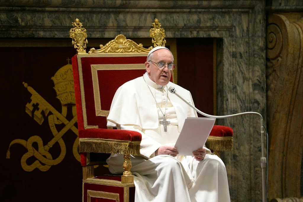 Pope Francis corruption fury: Tie them to a rock and throw them in the sea