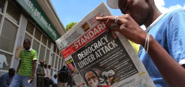 Anger over Kenyan media law
