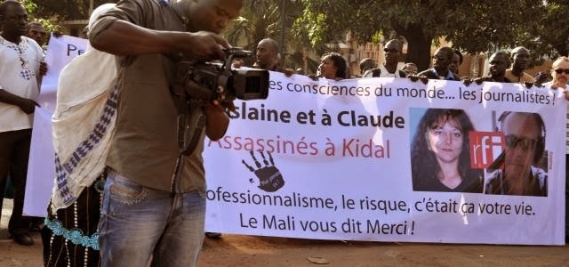 At least 35 arrests in Mali over French journalist murders