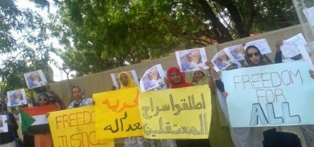 Sudanese women on the frontline