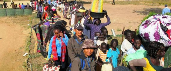 South Sudan's displaced top 120,000, government agrees to end hostilities