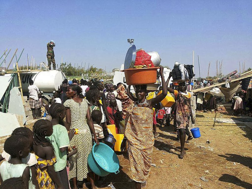 South Sudan government says it's open to talks to prevent war