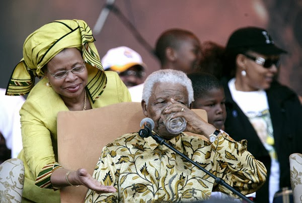 Graça Machel on Mandela: 'I learned to separate the man from the myth'