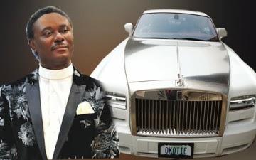 Okotie buys N120m Rolls Royce to mark pastoral anniversary