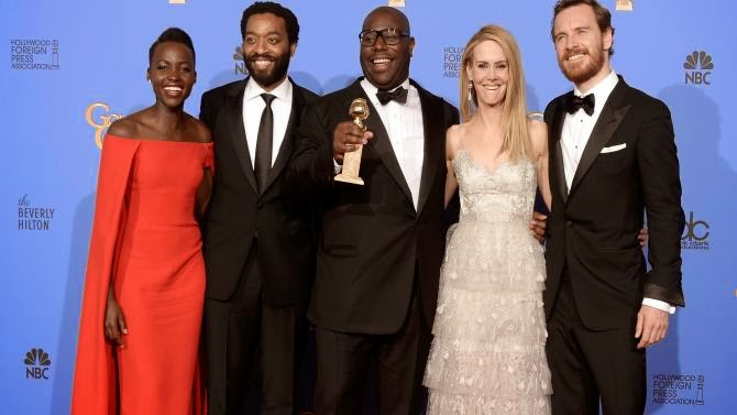 12 Years a Slave won, but Black Hollywood was snubbed at Golden Globes