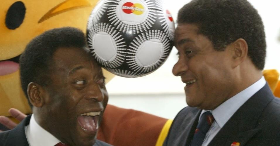 Pele pays tribute to 'brother' Eusebio