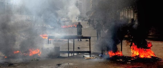 Egypt clashes leave 13 protesters dead
