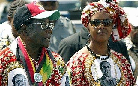 Zimbabwe's First Lady, Grace Mugabe, confirms her presidential ambitions