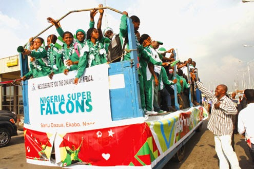 Clap for Super Falcons, weep for soccer administration!